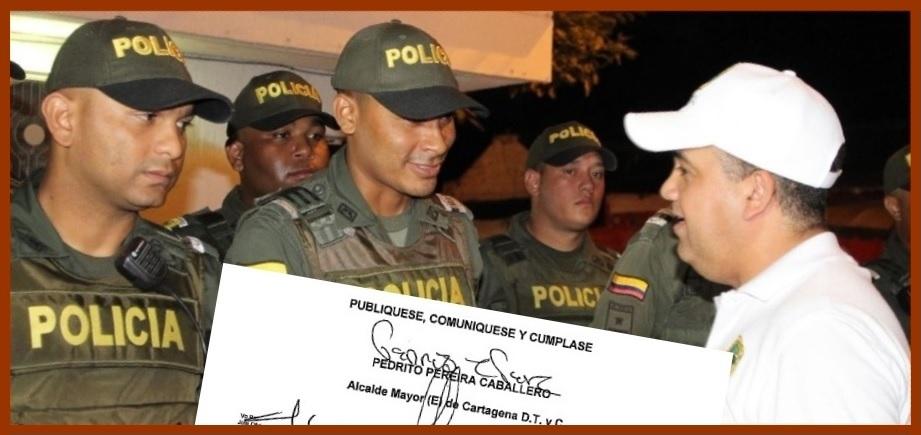 Propuestas para complementar prohibición de parrillero hombre en 8 barrios de Cartagena