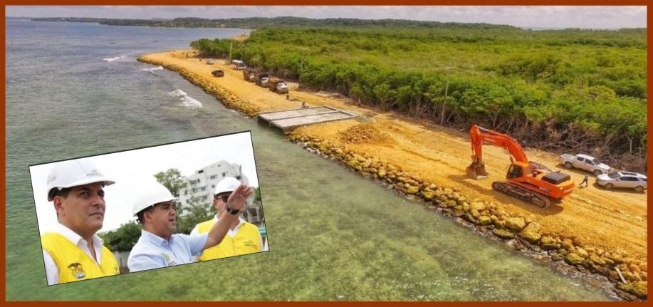 Las obras de la protección costera de Playetas se entregarán este 3 de diciembre