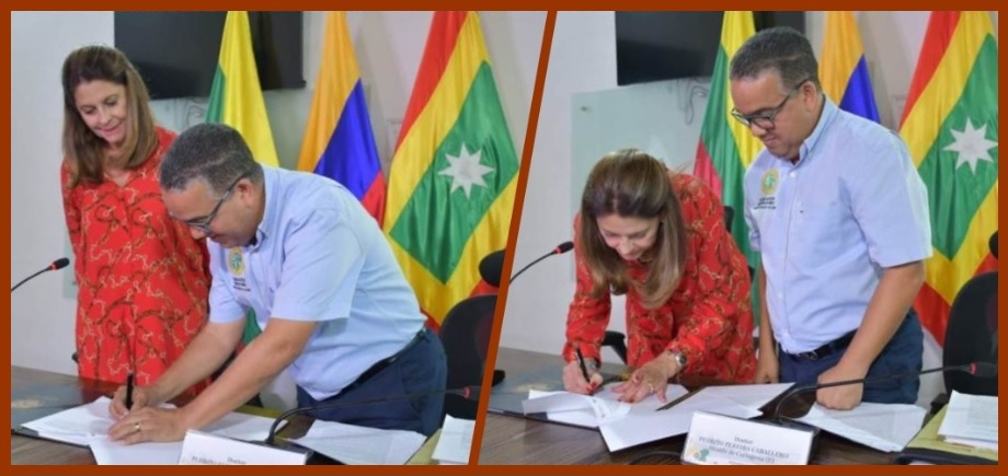 'Pacto por Cartagena' suscrito por Pedrito Pereira, ¿un saludo a la bandera?