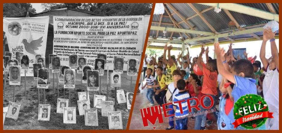 Con un canto a la vida conmemoran 14 años del retorno a Macayepo