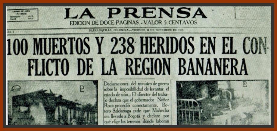 El negacionismo y la masacre de las bananeras