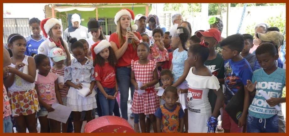 Los rostros de la Navidad en Cartagena II: la 'Sorpresa de Navidad' llega a Bayunca