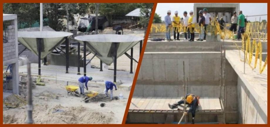 Planta del acueducto regional de Turbaco y Arjona estaría listo en marzo de este año