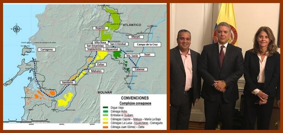 Nación busca cómo financiar recuperación del Canal del Dique; Ecopetrol, una alternativa