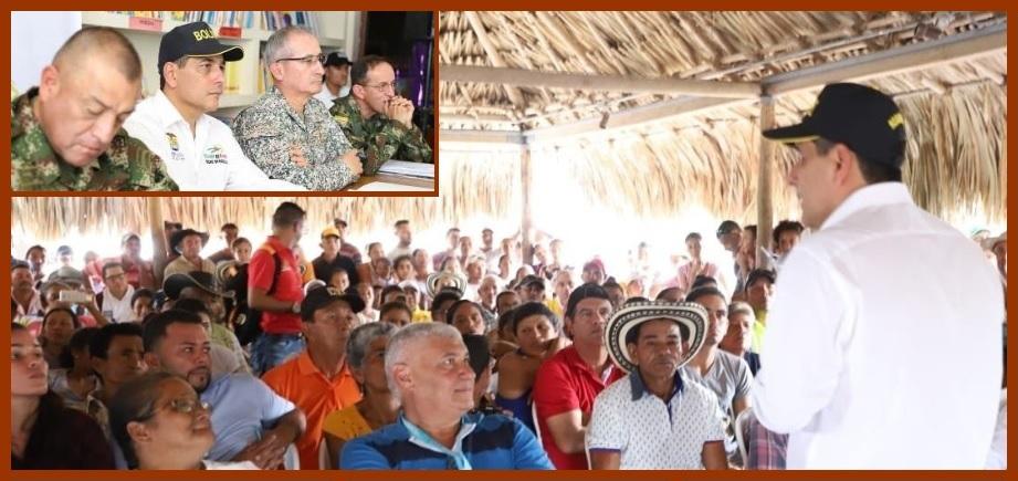«El mensaje para los líderes sociales de El Salado es que no están solos»: Dumek Turbay