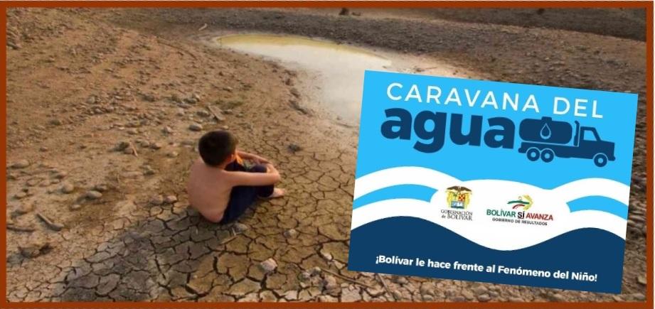 Bolivarenses, a abastecerse de agua y enfrentar el Fenómeno del Niño