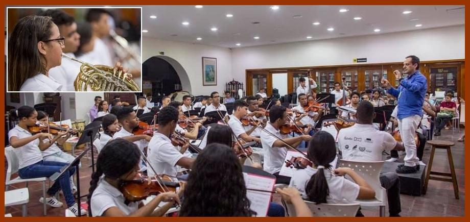La Orquesta Sinfónica de Cartagena se lució en el XIII Festival Internacional de Música