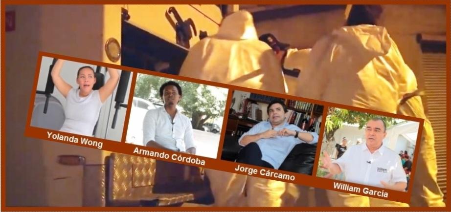 Sobre la inseguridad en Cartagena, esto piensan estos cuatro posibles candidatos