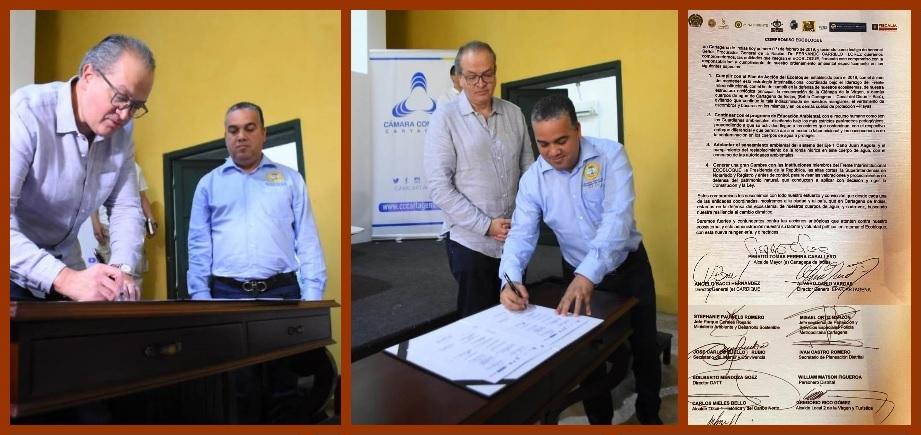 Autoridades y entes de control, comprometidos en la defensa de los ecosistemas de Cartagena
