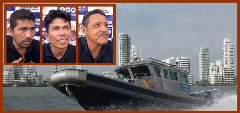 Una luz de esperanza para cinco venezolanos que casi mueren ahogados