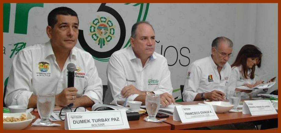 Dumek Turbay, elegido como presidente del OCAD Caribe por cuarto año consecutivo