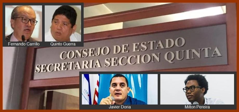 Abogados califican de 'lógico' rechazo del Consejo de Estado a pretensión del CNE