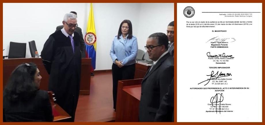 Demandante de encargo del alcalde no asiste a audiencia y revoca poder a Alcides Arrieta