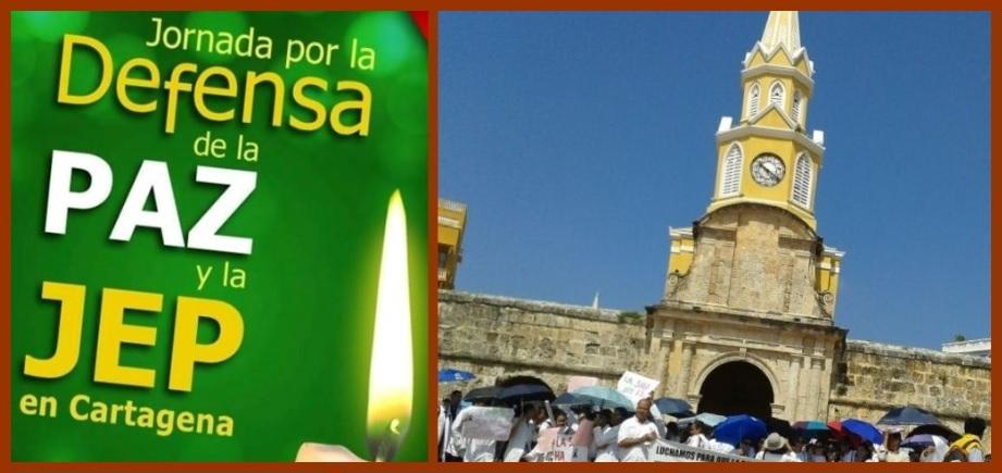 En Cartagena también se marchará en defensa de la JEP y los acuerdos de paz