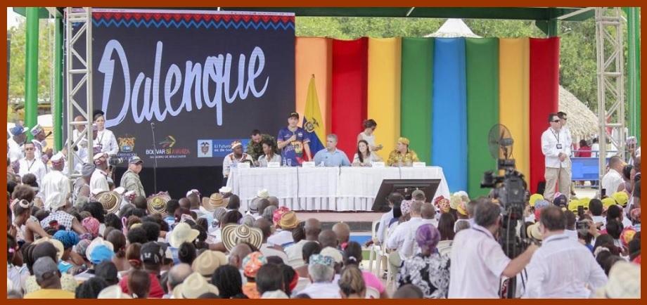 Duque liderará iniciativa para instituir a San Basilio de Palenque como municipio especial