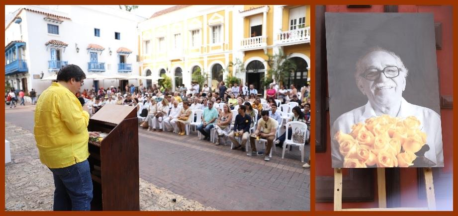 Leyendo su obra, Cartagena conmemoró el 5° aniversario de la muerte de Gabo