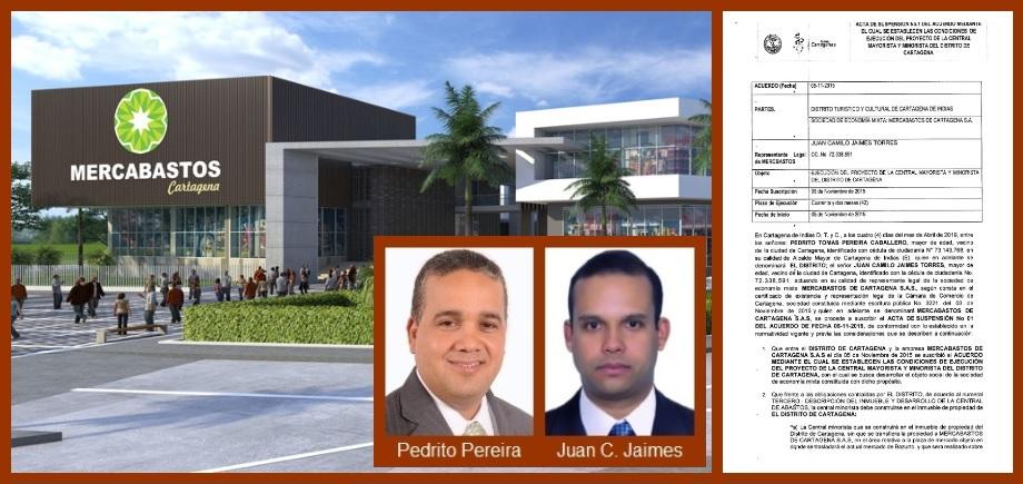 Alcalde Pedrito Pereira decide suspender la ejecución de Mercabastos; sepa porqué