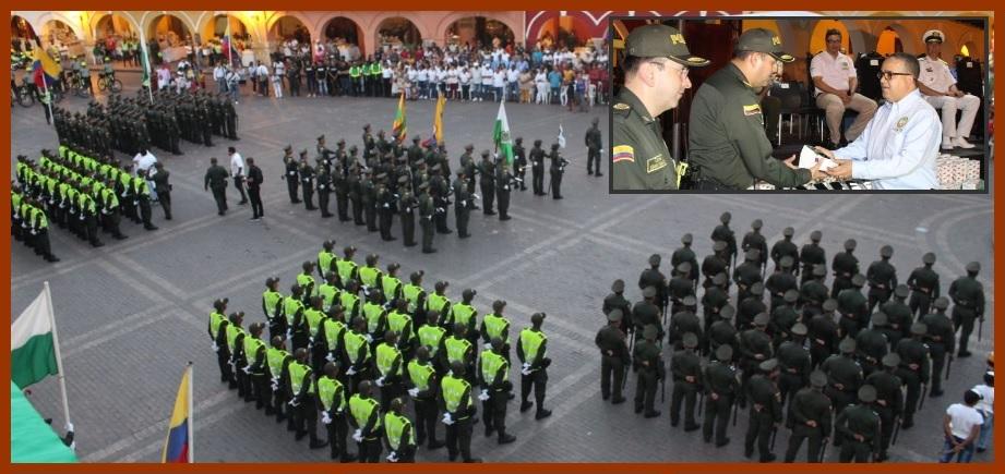 Seguridad de Cartagena, reforzada con 140 nuevos policías y dispositivos tecnológicos