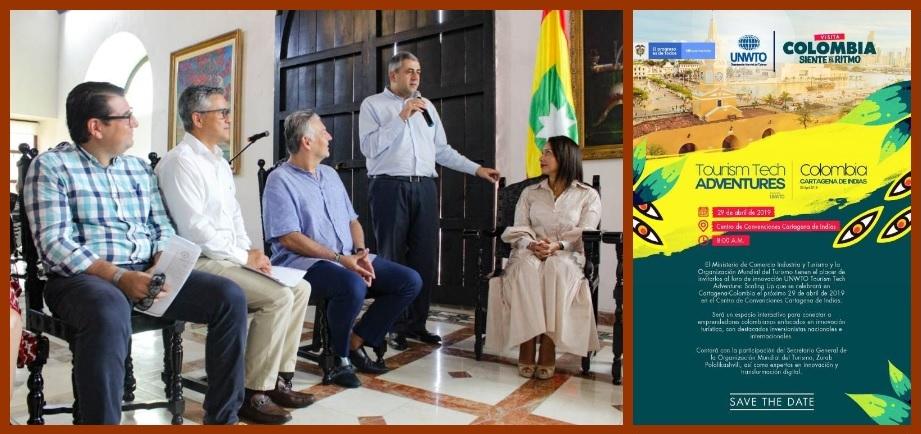 Cartagena, en el foco del turismo mundial gracias al foro 'Tourism Tech Adventure'