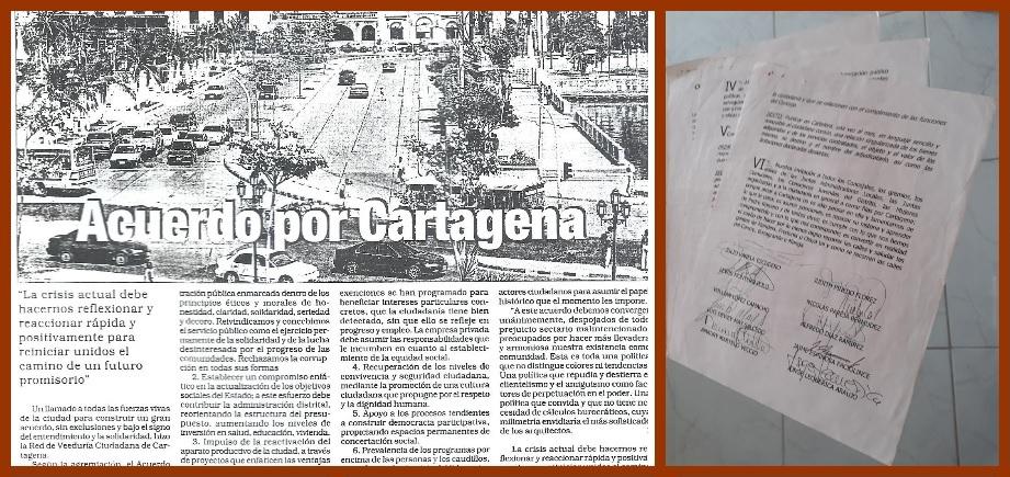 El futuro de Cartagena, ¿a construirse entre todos o apenas por unos cuantos?