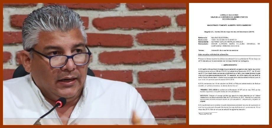 Consejo de Estado y Procuraduría responden al Concejo sobre el caso de Óscar Marín