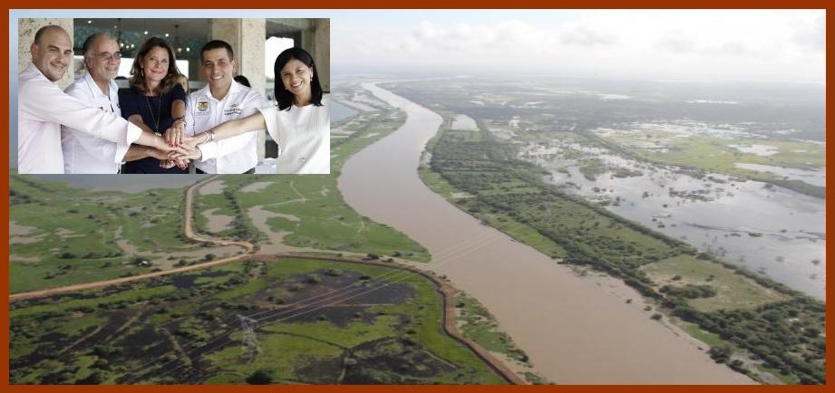 Sellado acuerdo para ejecutar por fin las obras de recuperación del Canal del Dique