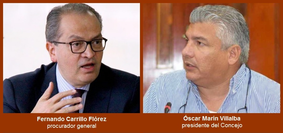 Se agrava situación de Óscar Marín: ahora, la Procuraduría le abre un proceso disciplinario