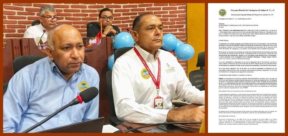 El Distrito, sin afugias para ejecutar los proyectos priorizados para Cartagena en el 2019