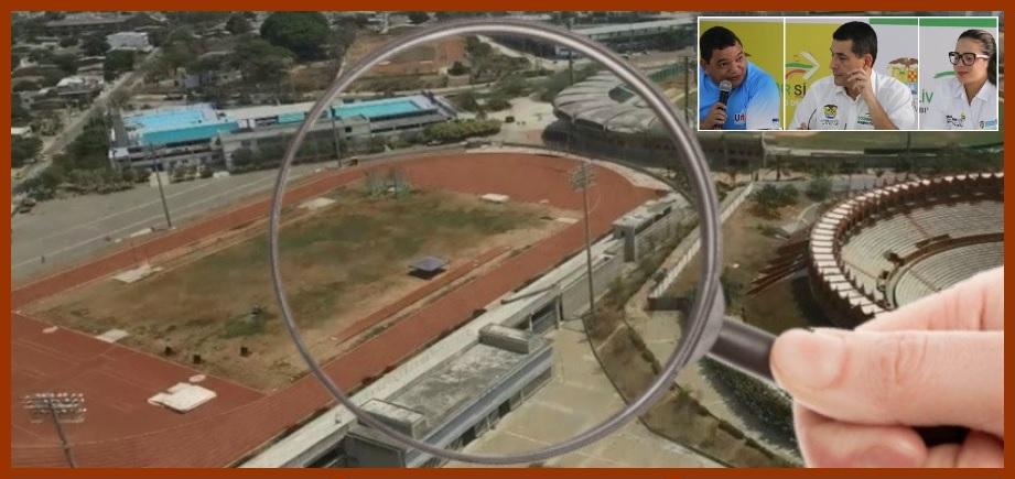 En el Distrito, las obras en los escenarios de los Juegos Nacionales avanzan a buen ritmo