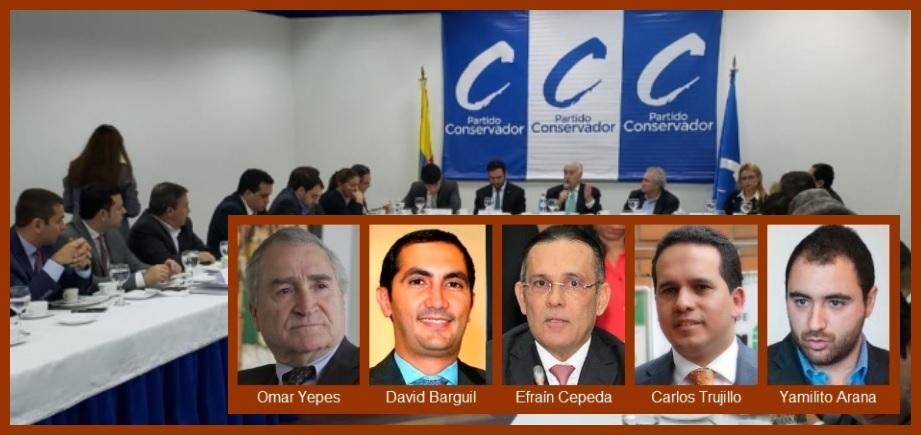 Estos son los dignatarios del Conservatismo que, según Yepes, «dirán la última palabra»
