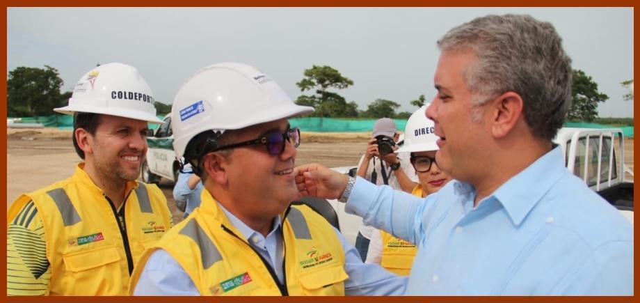 El presidente Iván Duque anunció que Pedrito Pereira irá hasta el final del periodo
