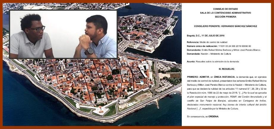 Admiten acción que busca que el Pemp de fortificaciones sea formulado por el Distrito