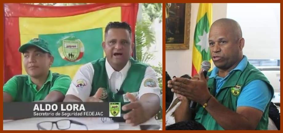 «Aldo Lora no nos representa ni es vocero de las organizaciones comunales»: Géverson Ortiz