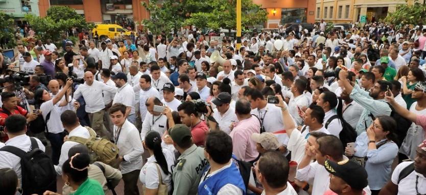 Según la vicepresidenta Ramírez, los abucheos a Duque «no fueron espontáneos»