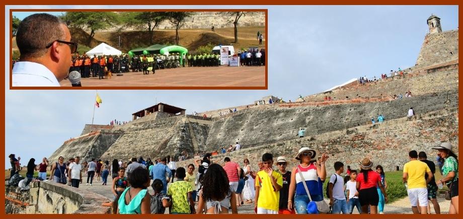 Cartagena, lista para recibir 360 mil turistas en temporada de mitad de año