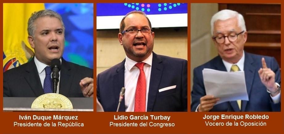 Los rostros y las voces durante la instalación del nuevo periodo legislativo
