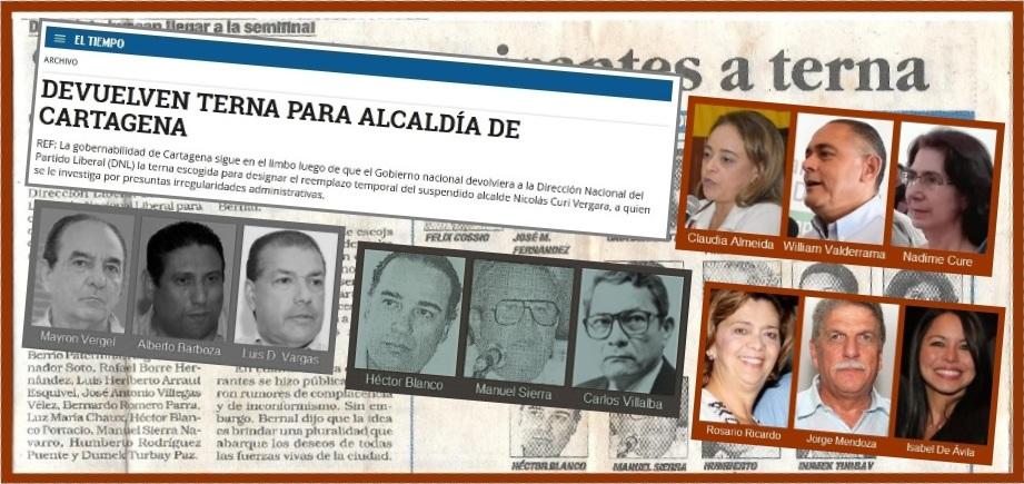 «Devuelven terna para Alcaldía»… Quien no conoce la Historia está condenado a repetirla