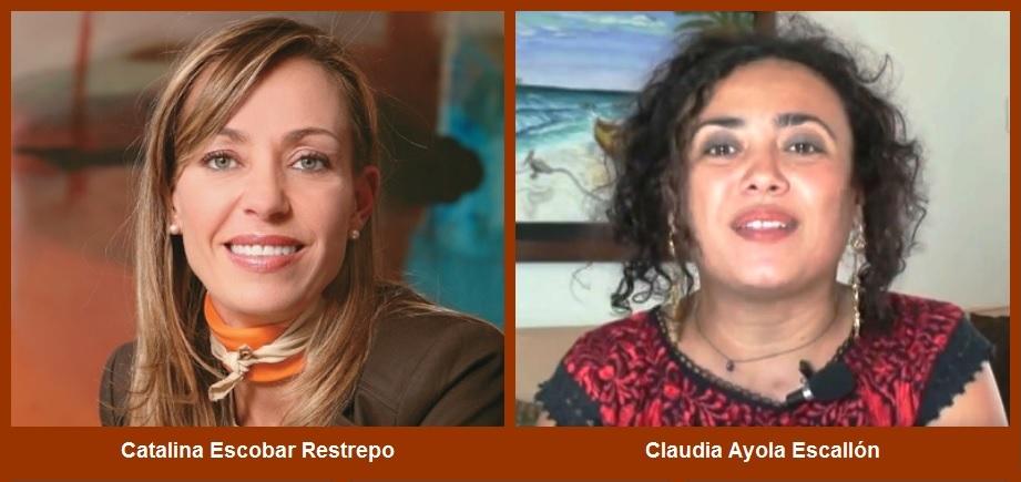 Catalina Escobar y Claudia Ayola, dos de las diez jóvenes transformadoras del Caribe