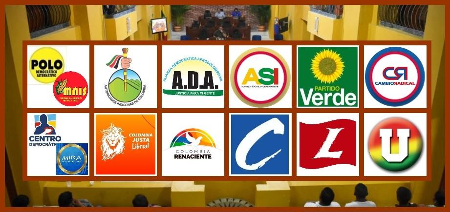 Estos son los partidos que aspiran a man/tener curul en el Concejo de Cartagena