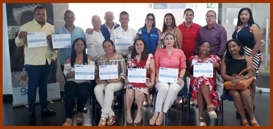 Diez municipios de Bolívar, con calificación ejemplar por su trabajo con las víctimas