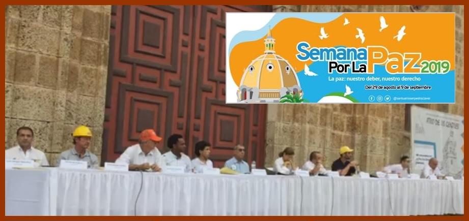 Candidatos, comprometidos a convertir a Cartagena de Indias en la Ciudad de la Paz