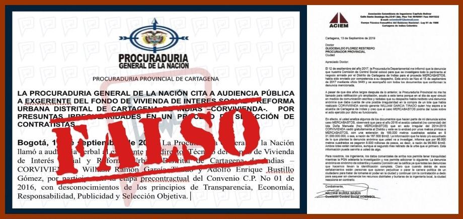 Falso comunicado de la PGN enciende los ánimos en varias campañas a la Alcaldía