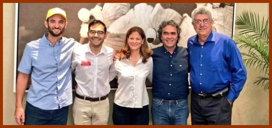 Hernández, Báladi, Londoño y Fadul acuerdan fórmula para unir sus candidaturas