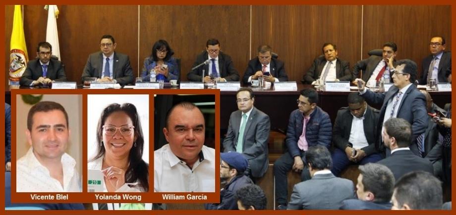 CNE niega revocatoria de inscripción de candidaturas de Blel, Wong y García