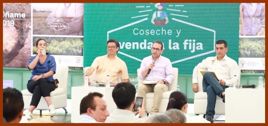 Firman histórico convenio para la comercialización del ñame bolivarense