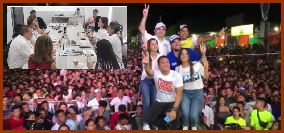 ¿Por qué una foto en un evento político causó revuelo entre unos líderes gremiales?