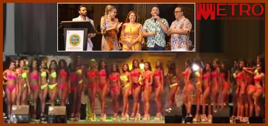 Las candidatas al Reinado de la Independencia se destaparon ante el público cartagenero