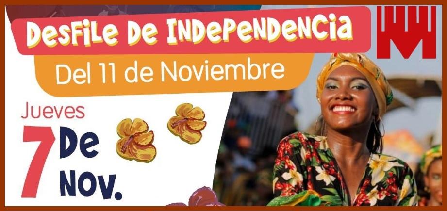 Cartageneros y visitantes, ¡a gozarse en paz y armonía las Fiestas de la Independencia!