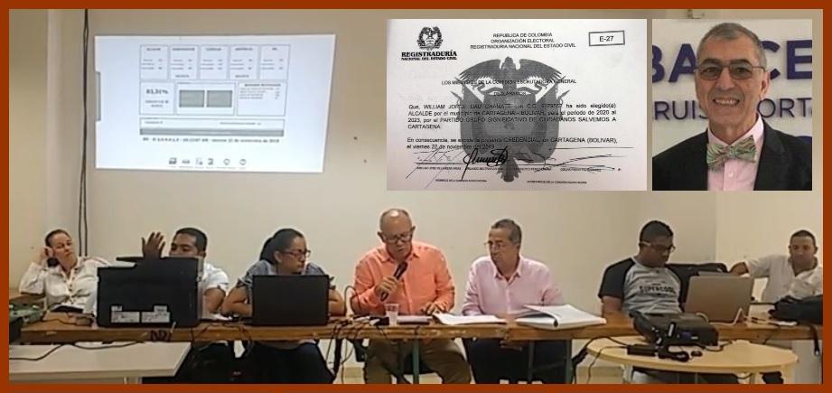 Comisión Escrutadora General declara elección de Dau como alcalde de Cartagena