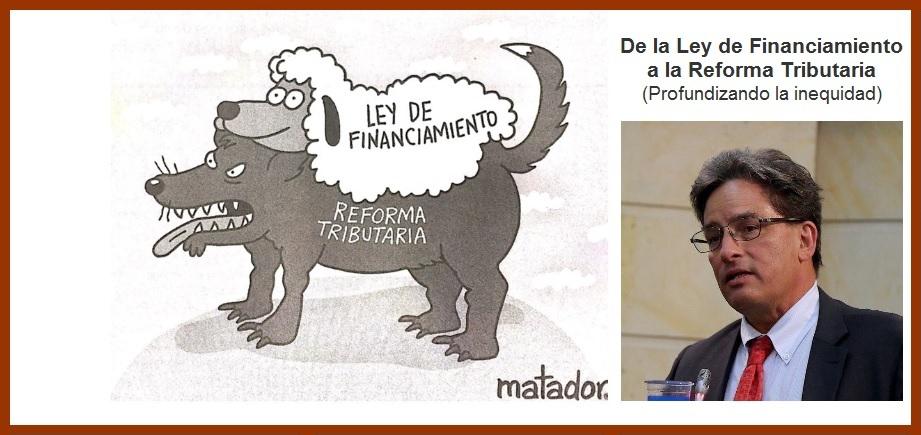 De la Ley de Financiamiento a la Reforma Tributaria